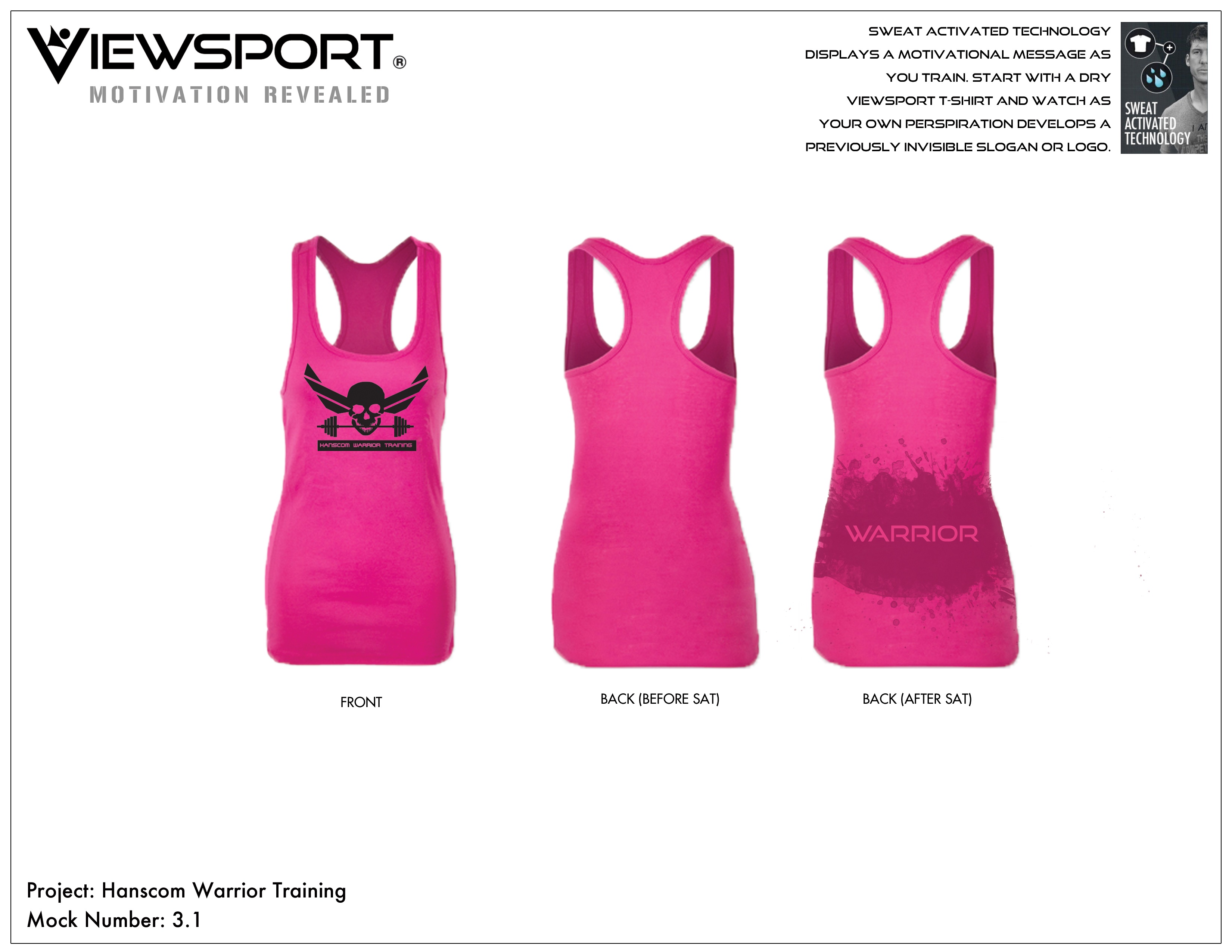 Design your own t-shirt front and back - Women S Pink Tank Image